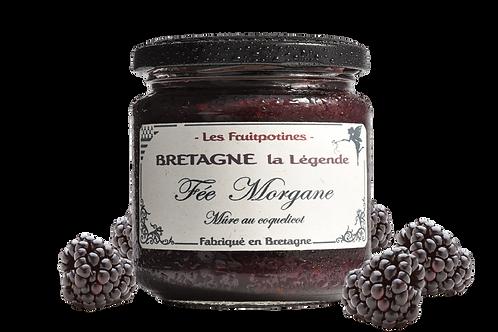 "Confiture "" Les Fruipotines"" la fée Morgane"