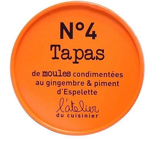 """Tapas de moules """" A l'atelier du cuisinier """""""