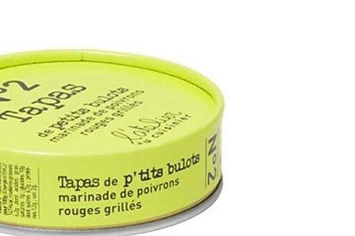 """Tapas de Petits Bulots poivron """"A l'atelier du cuisinier """""""