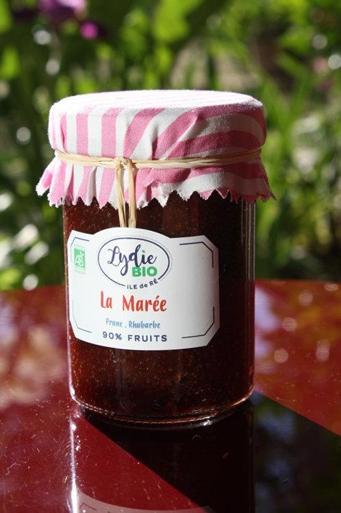 """Confiture """" Le jardin de lydie"""" La Marée"""