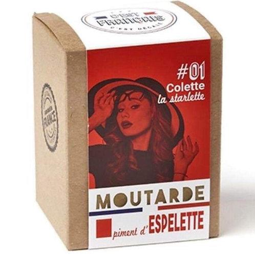 Moutarde piment d'espelette « C'est Français «