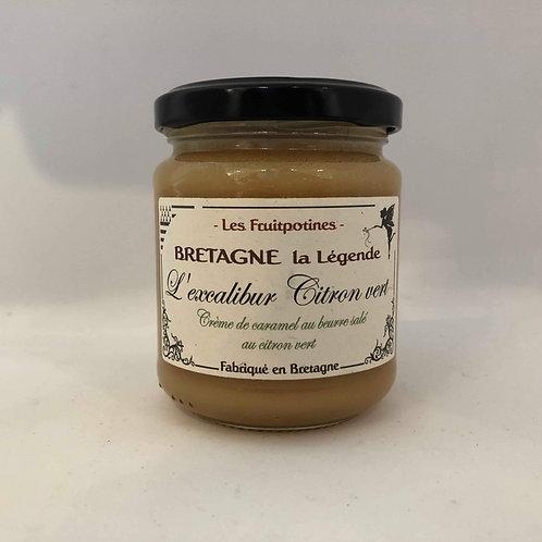 Crème de caramel beurre salé et citron vert Les fruipotines