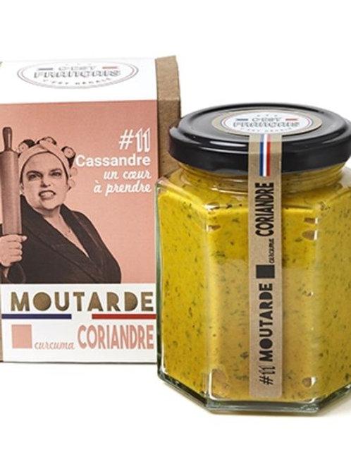 """Moutarde Curcuma Coriandre """"C'est français"""""""