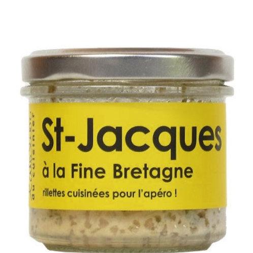 Rillettes de saint Jacques à la fine Bretagne