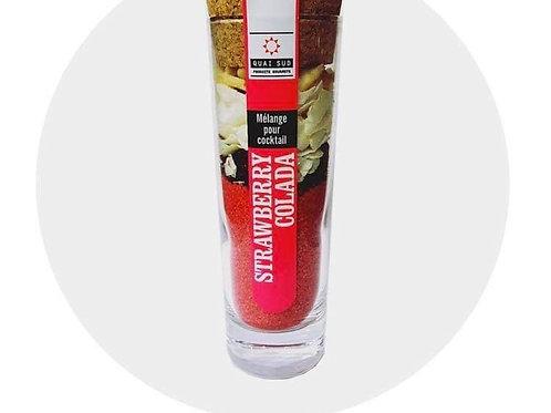 "Kit pour cocktail Strawberry Colada "" Quai Sud"""