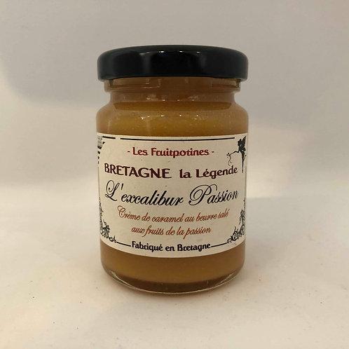 Crème de caramel beurre salé et fruits de la passion Les fruipotines