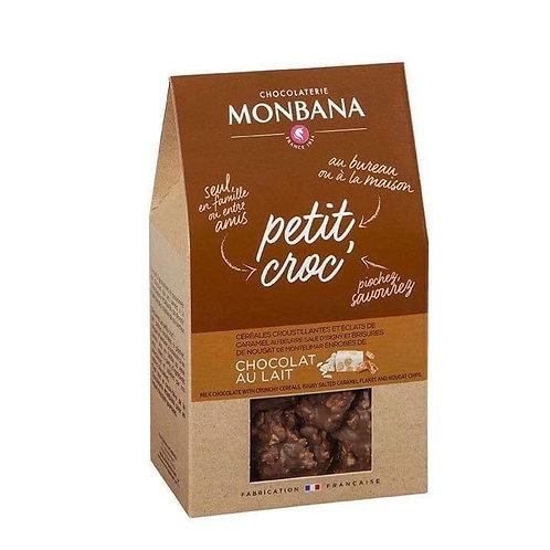 """Sachet de petit croc chocolat lait """" Monbana"""""""