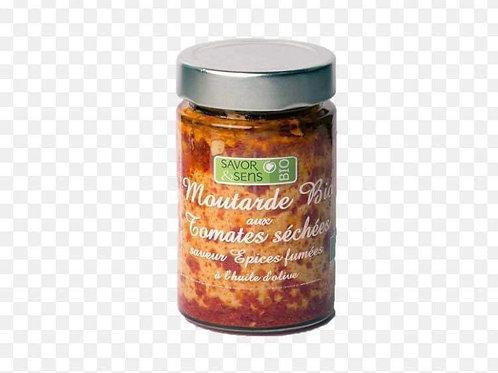 "Moutarde bio tomates séchées "" Savor and Sens """