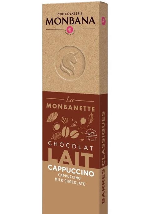 Tablette chocolat lait cappuccino