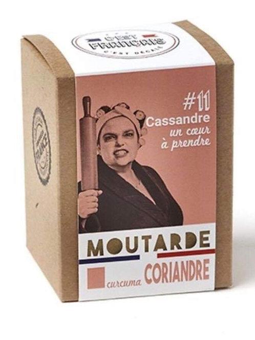 Moutarde coriandre curcuma « C'est Français»