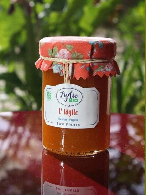Confiture L'idylle du jardin de Lydie