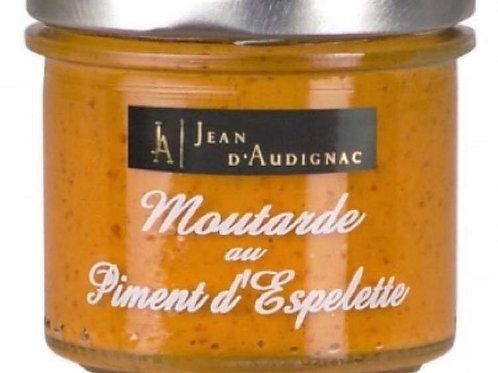 """Moutarde au piment d'espelette """"Jean d'Audignac """""""
