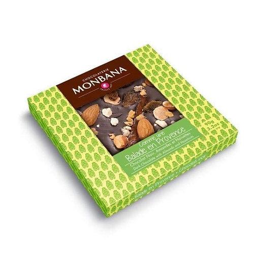 "Tablette de chocolat "" Balade en Provence "" Monbana"
