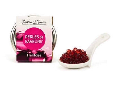 "Perles de saveur framboise "" Christine Le Tennier """
