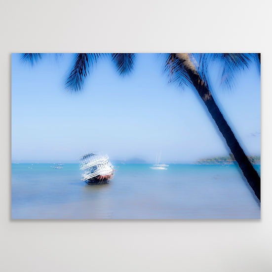 UNDER THE PALM TREE | Digital Download Print