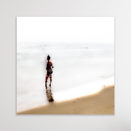 CLOUDY BEACH DAY | Digital Download Print
