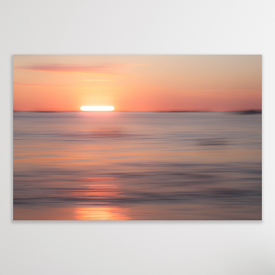 INTO THE SUNSET | Digital Download Print