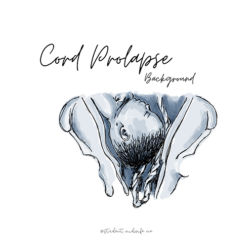 Cord Prolapse Pocket Cards