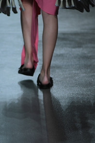 Catwalk at lisboa fashion week
