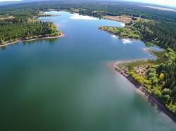 Island Park reservoir