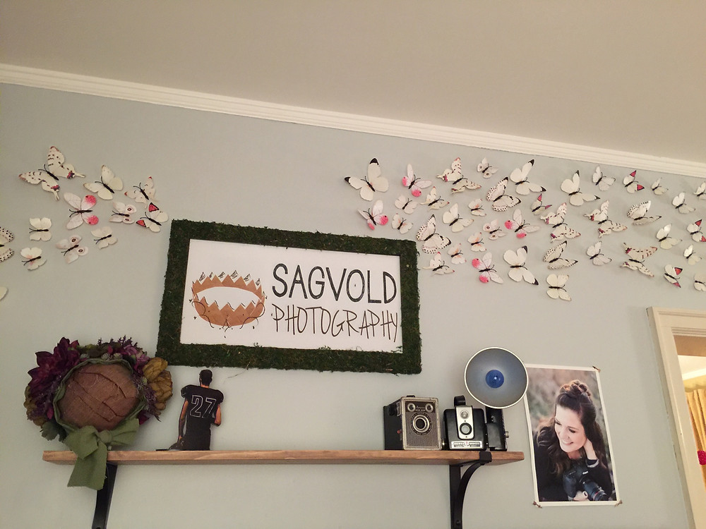 Sagvold Photography Logo in a Frame.