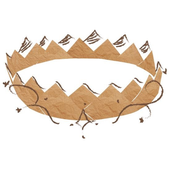 Sagvold Photography wanted a pager crown as their mark. To symbolize the whimsy of childhood.