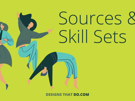 What Should I Know About Sources & Skill Sets?