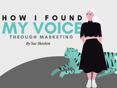 How I Found My Voice Through Marketing