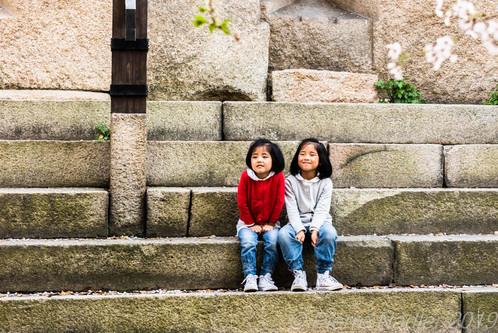 Au Château d'Osaka