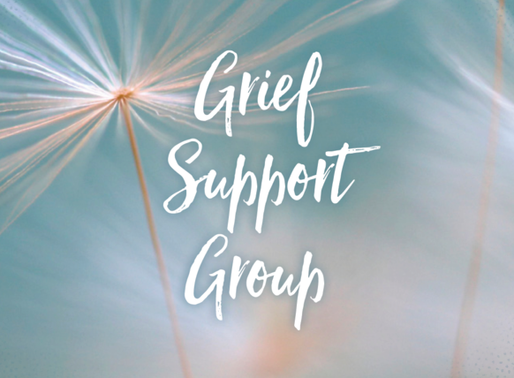 GRIEF SUPPORT MEETING - Nov. 7 at Atonement