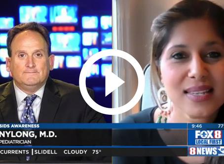 Dr. Vyas On Fox 8 LIVE