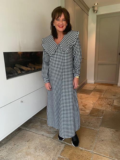 Aurelie Dress Zwart Lang