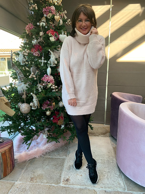 Nathalie Dress Lichtroze