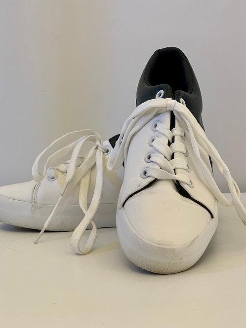 Basket Wit/Zwart