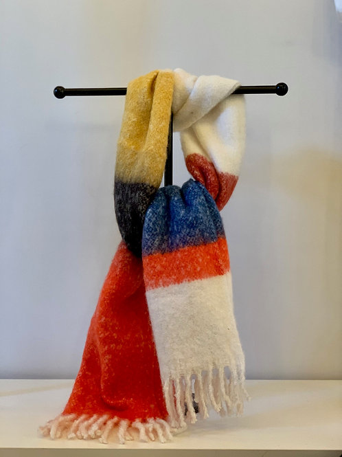 Sjaal Oranje Tinten