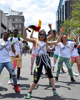 Xperience Creative at the Boston Pride Parade