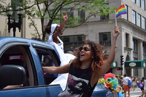 Marcela Cruz: Boston Pride Parade