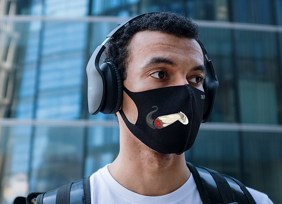 BCW Smokers Mask: Black