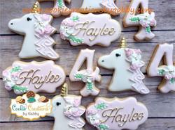 One more unicorn party!! Happy birthday