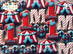 Circus themed birthday party! #circus #b