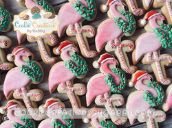 Merry Christmas! #flamingos #christmasfl