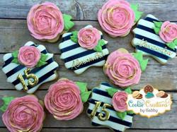 Roses! #roses #pinkroses #rosecookies #d