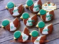 Ducks! #customcookies #cookiecreationsby