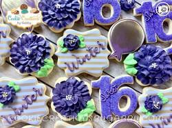 Happy Birthday Winter!#birthdaycookies #