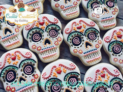 Another Day of the Dead cookie!! #alphar