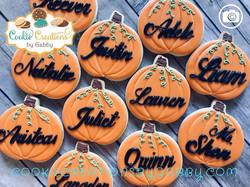Pumpkins!#pumpkins #pumpkincookies #hall