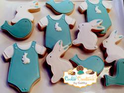 onesie bunnies and bird 1