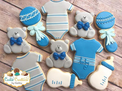 Cookies for a baby shower celebration! #