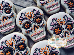 The day of the dead cookies #alpharettag