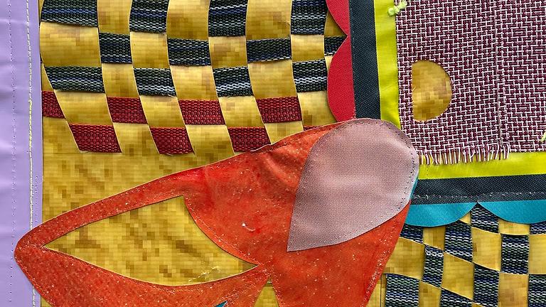Maple Tree of Love Tapestry: Public Art Installation by Lina Puerta